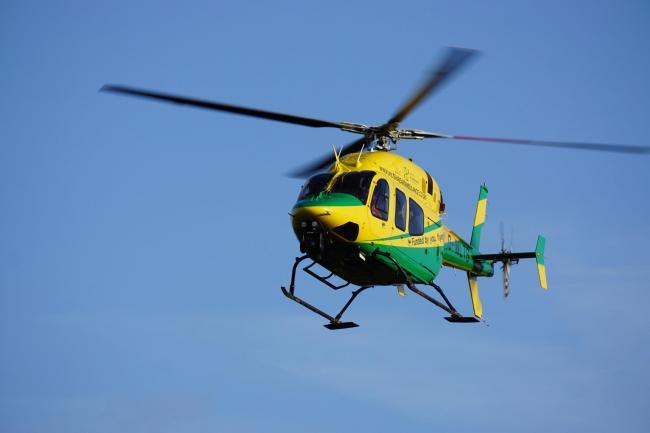 Here's why you may have seen the air ambulance near Lydiard Park Academy