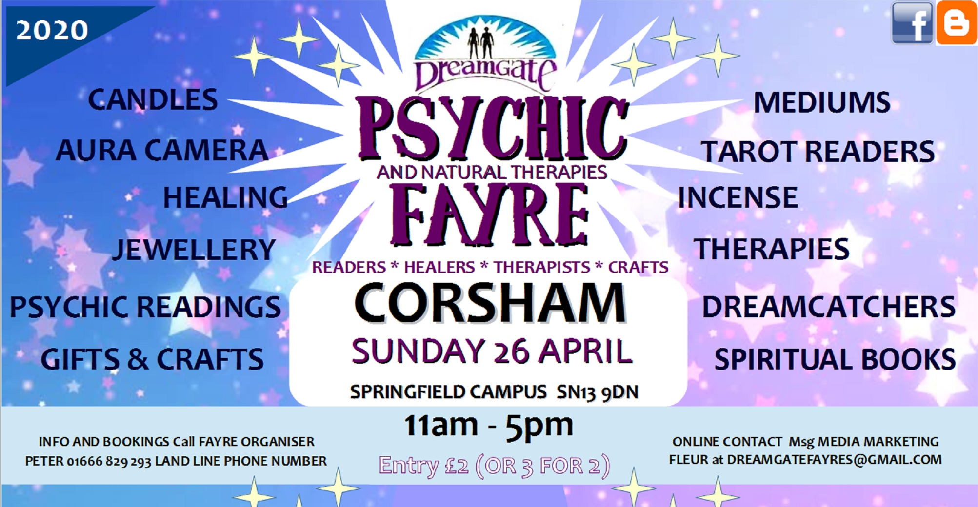 DreamGate Psychic Fayres