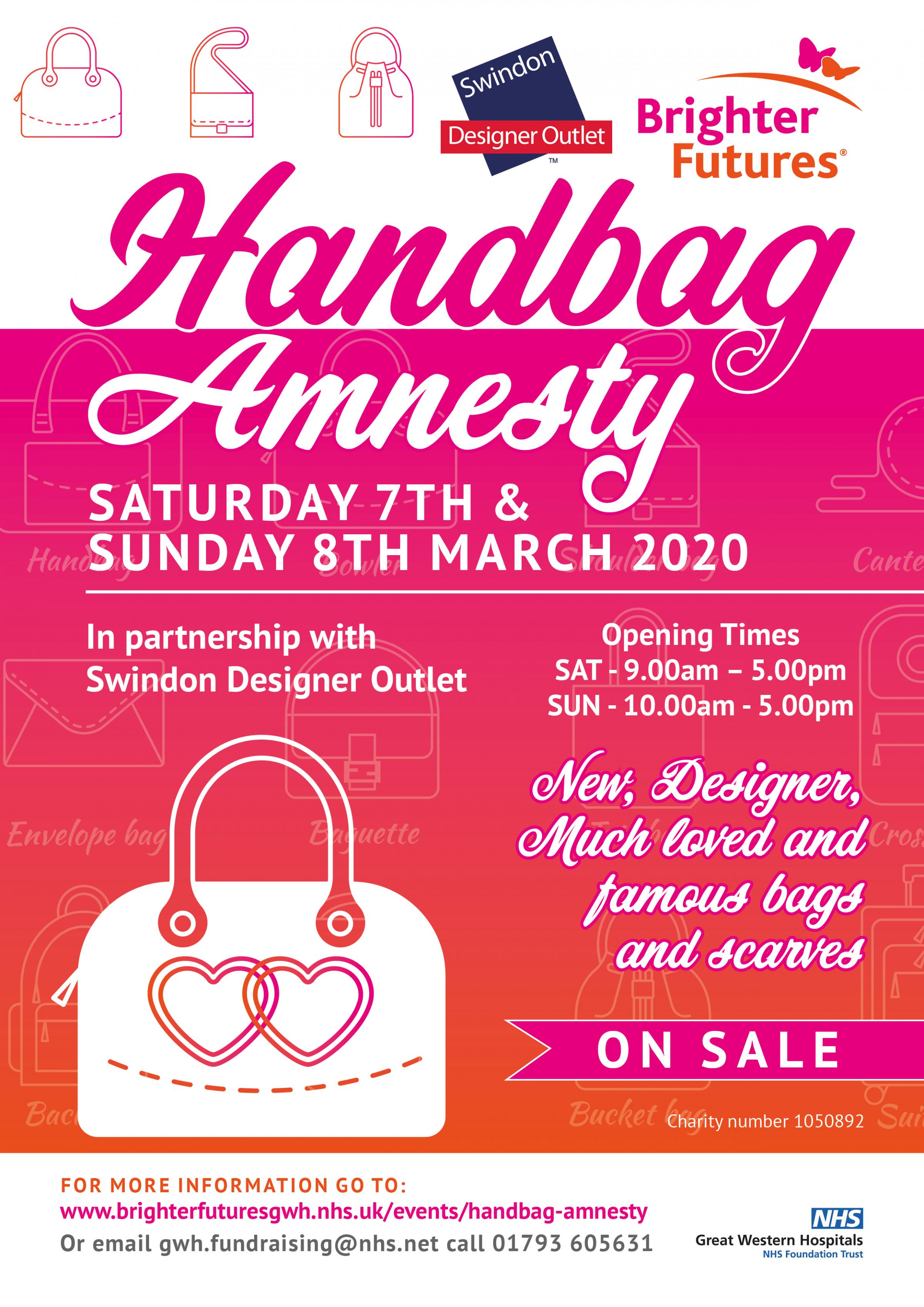 Brighter Futures Handbag Amnesty