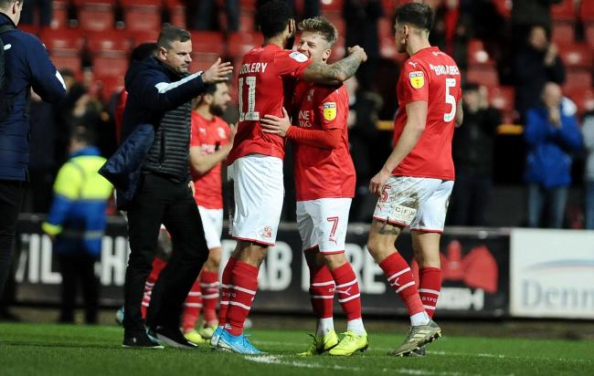 Swindon Town manager Richie Wellens believes 82 points will be enough for promotion to League One this season.
