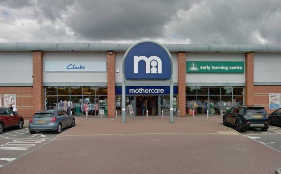 Mothercare's Swindon branch closing down today