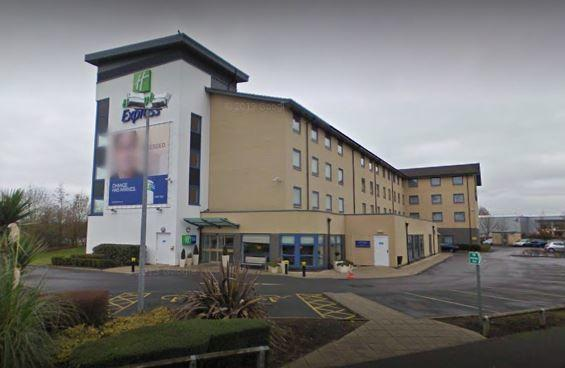 The Holiday Inn at J16 where the cash had been left. Detectives were watching on as the money was collected, Swindon Crown Court heard Picture: GOOGLE