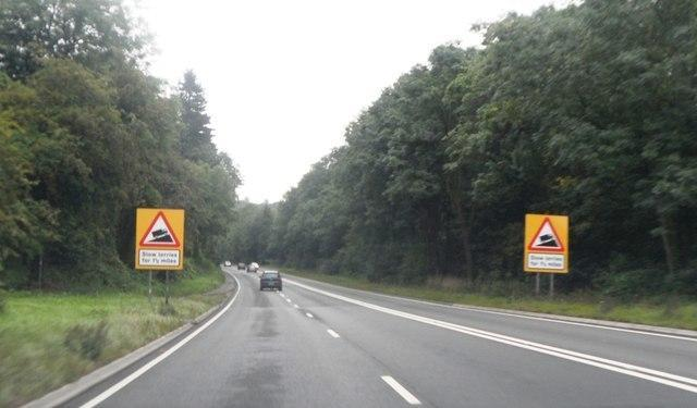 A417 Crickley Hill