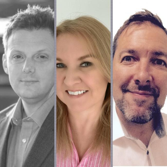 Simon Hunter, Lian Rowlands and David Hingley have joined Woven's commercial team
