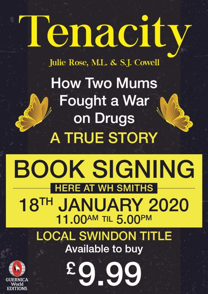 Book from Swindon writers tells a story of addiction