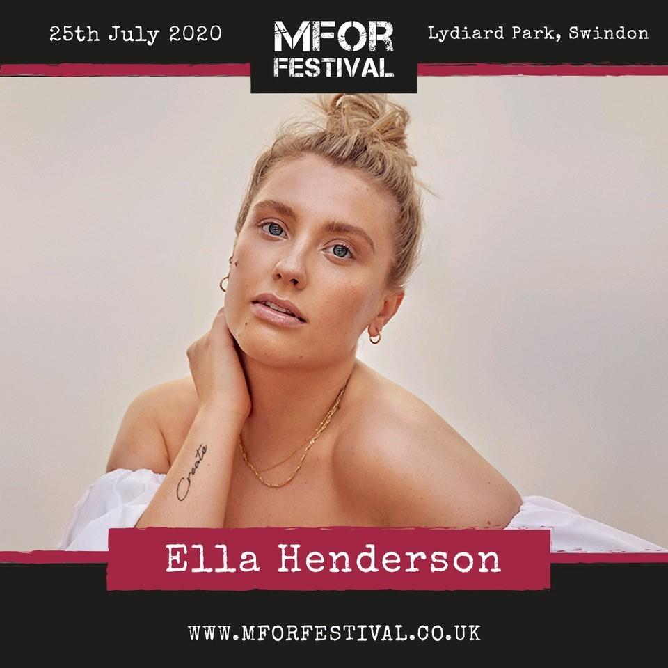 Ella Henderson joins MFor Festival lineup