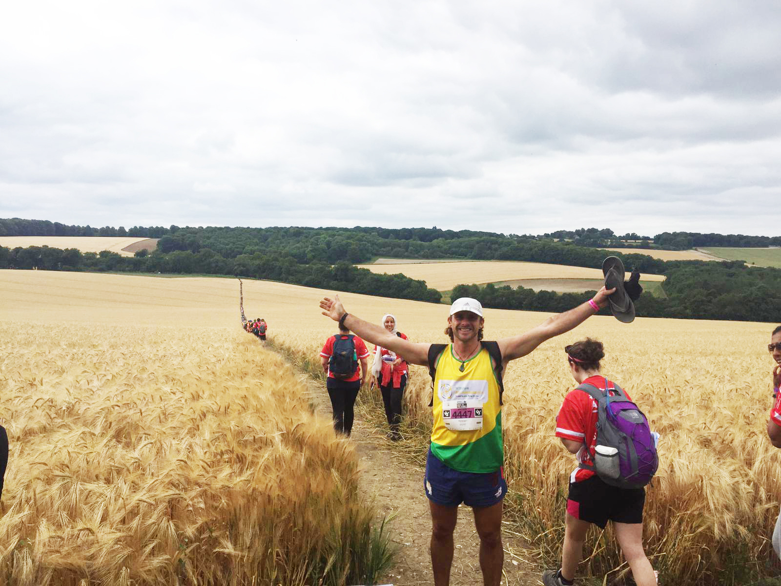 Race to the Stones along historic Ridgeway trail to support Wiltshire Air Ambulance