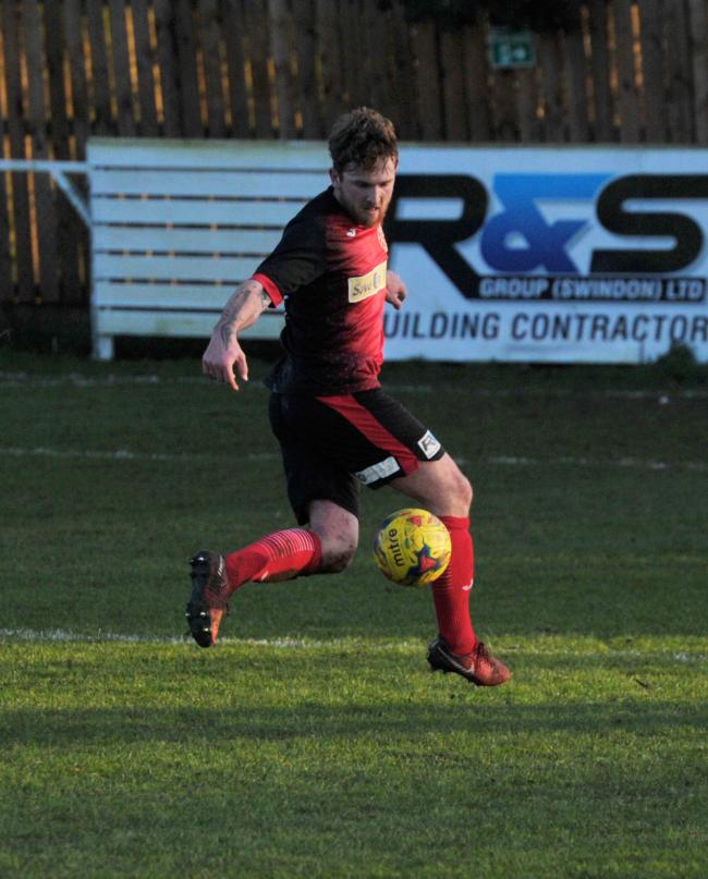 Highworth striker Callum Parsons will be key for John Fisher's men on Saturday   Pic: Dave Cox