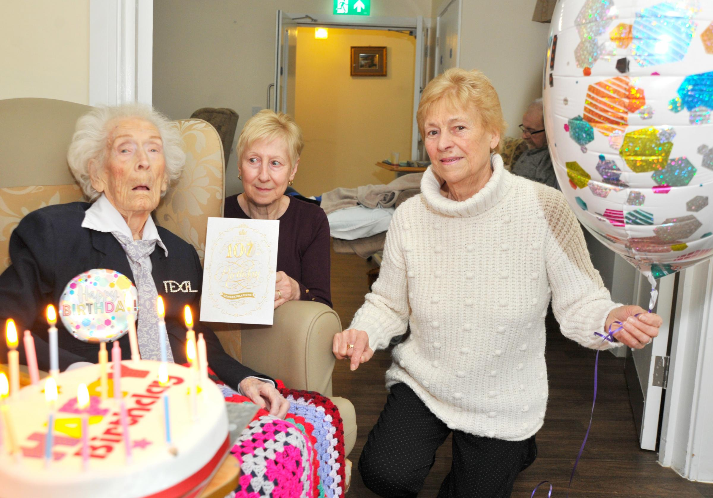 Cruises and keeping fit are 107-year-old's secret to a long life