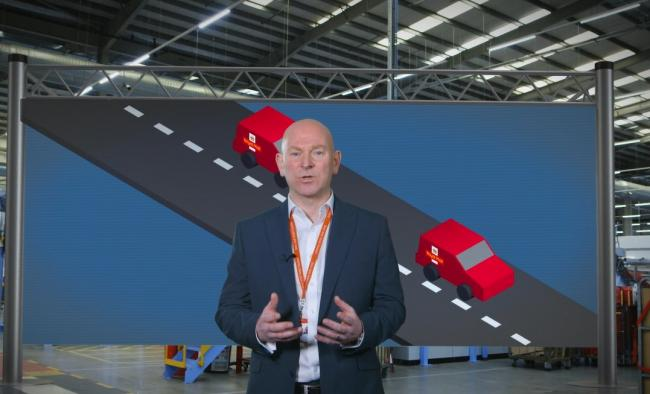 The Royal Mail's national service delivery director Ricky McAulay explains the van delivery trial