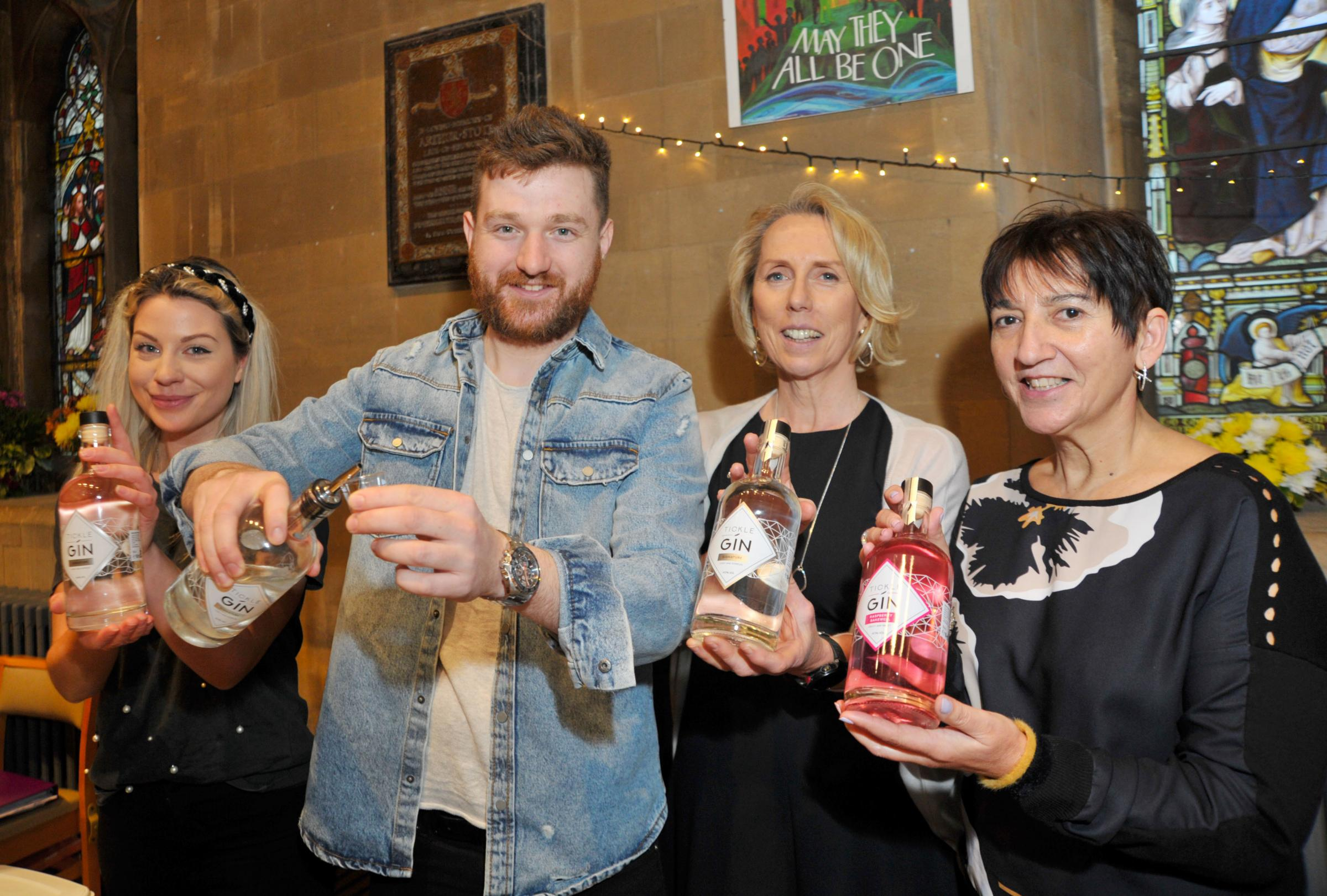 Friends hold gin and Prosecco festival to support charities