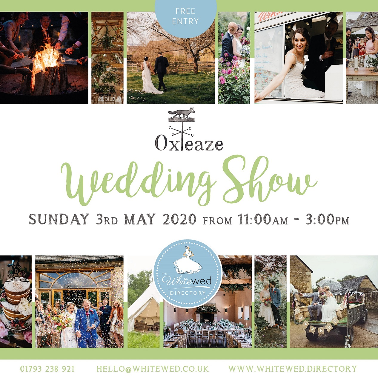 The Oxleaze Barn, Lechlade Wedding Show
