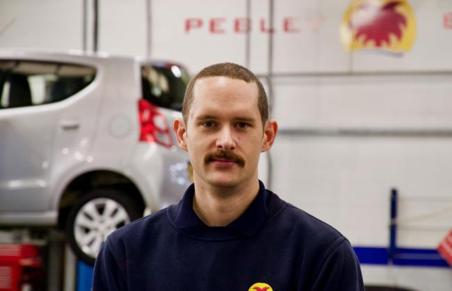 Mark Illsley has gone from apprentice to department manager at Pebley Beach