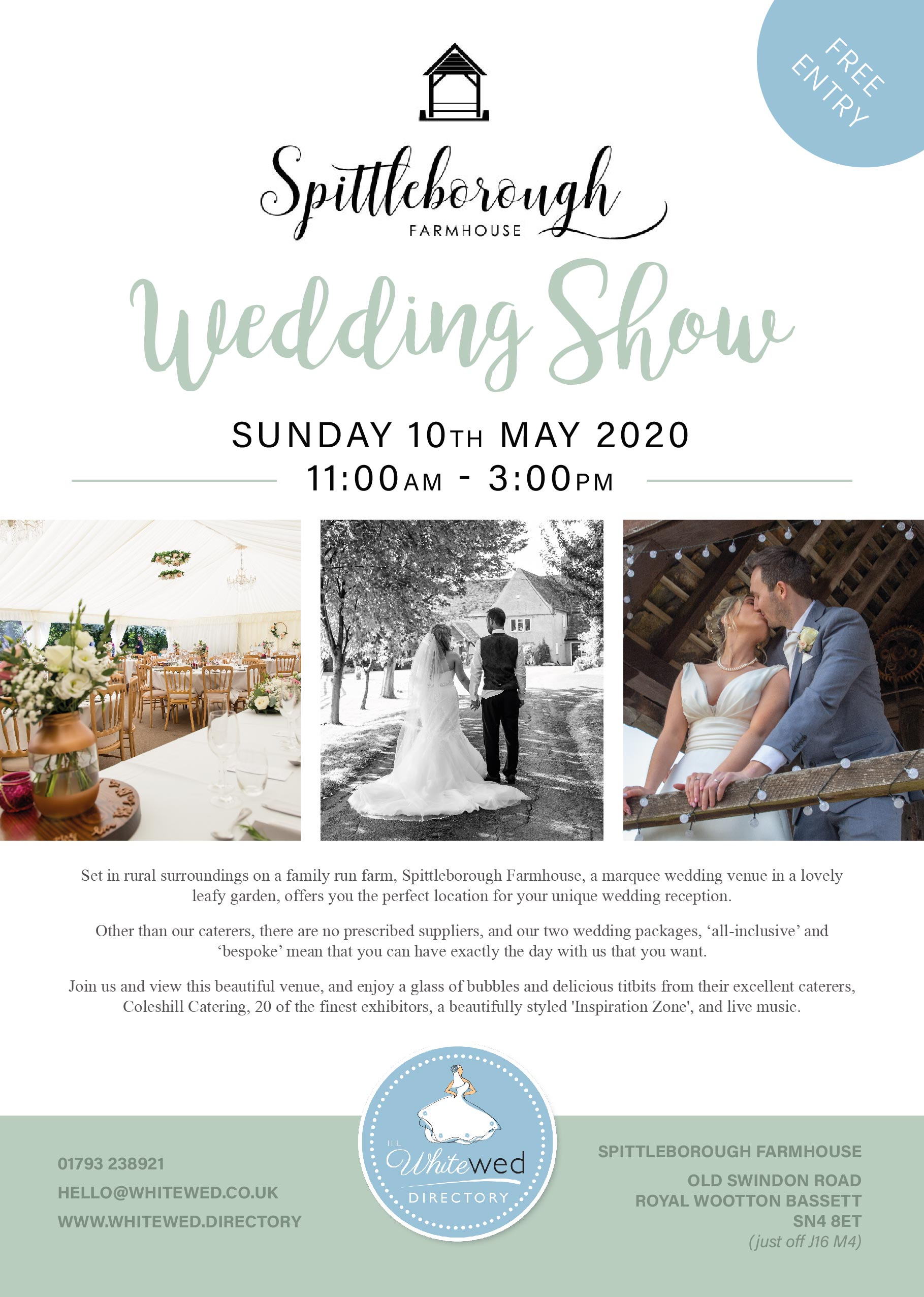 The Spittleborough Farmhouse Wedding Show