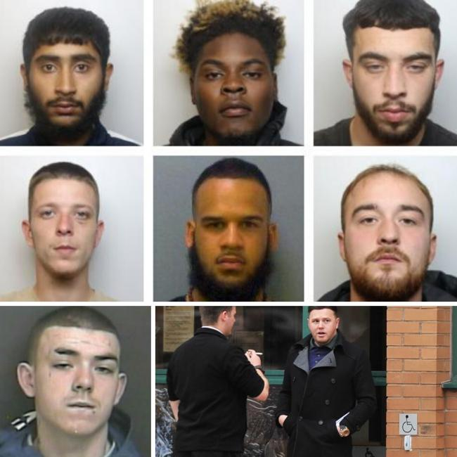 JAILED IN JANUARY: Criminals behind bars