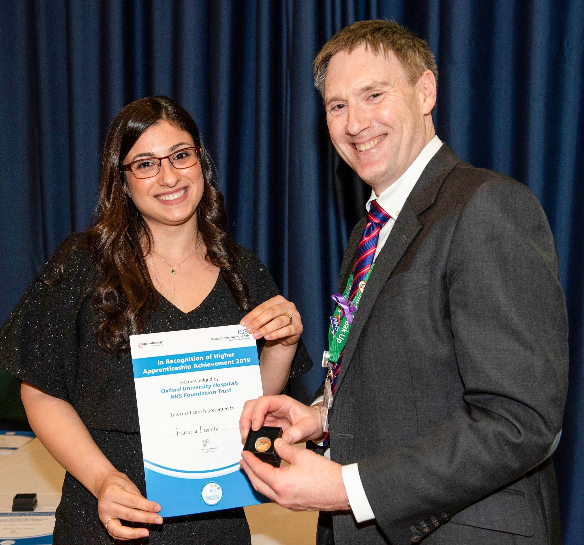 Award-winning apprentice conquers the language barrier