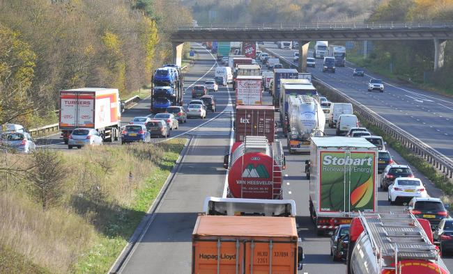 Labour think more money should go on solving pollution, rather than improving Junction 15 of the M4 		Picture:Dave Cox..