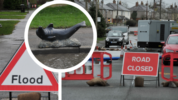 Councillor reveals thieves have tried to steal pump at flooded Perry's Lane - TWICE