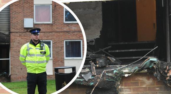 ARSON 'MURDER': Detectives continue to investigate fatal Devizes fire