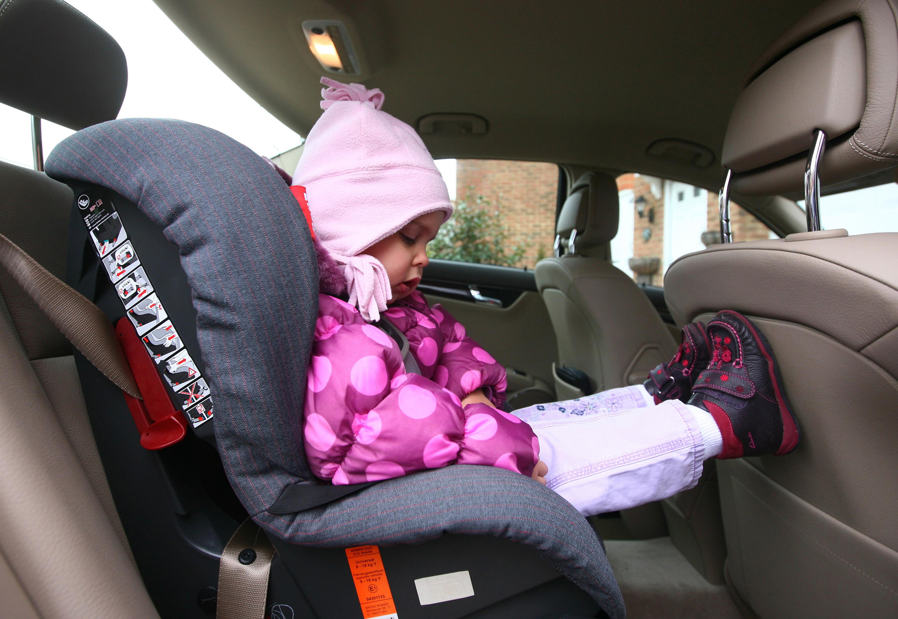 Here's how you can get a free car seat fitting in Wiltshire next month