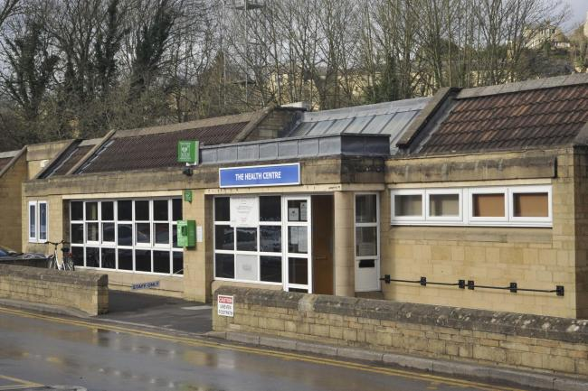 Bradford on Avon Health Centre where the possible coronavirus patient was treated