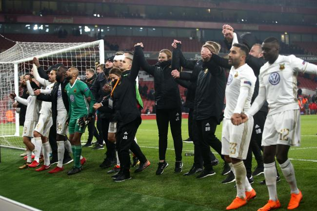 Arsenal v Ostersunds FK – UEFA Europa League – Round of 32 – Second Leg – Emirates Stadium