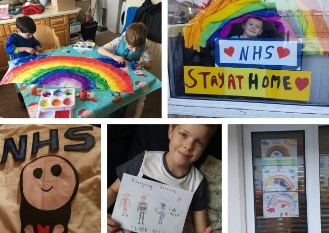 RAINBOW PICTURES WANTED: Show support for NHS heroes and see your child's colourful creation published in the Adver