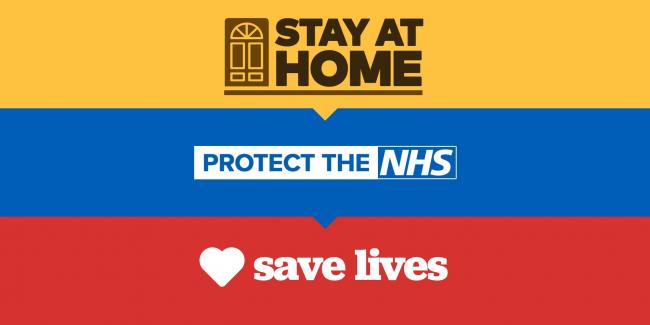 Swindon Advertiser: Stay home, protect the NHS, save lives