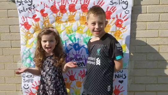 WATCH: Adorable 'Thank You NHS' video sent to Swindon hospital