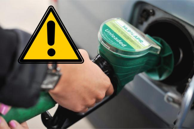 Petrol pumps should carry 'cigarette packet-style' warnings - experts argue. Picture: Newsquest