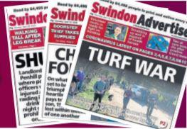 SWINDON ADVERTISER: A message from the Editor