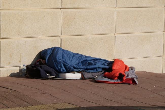 Many rough sleepers have problems with alcohol or drugs