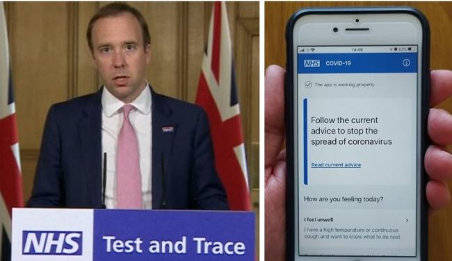 How will England's lockdown will end? Coronavirus track and trace app goes live