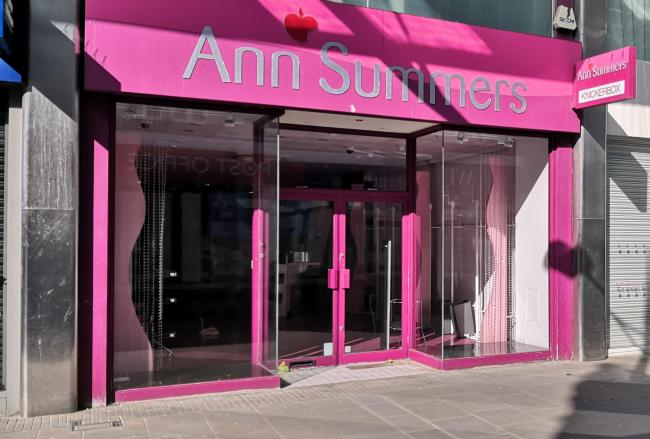 Ann Summers closure