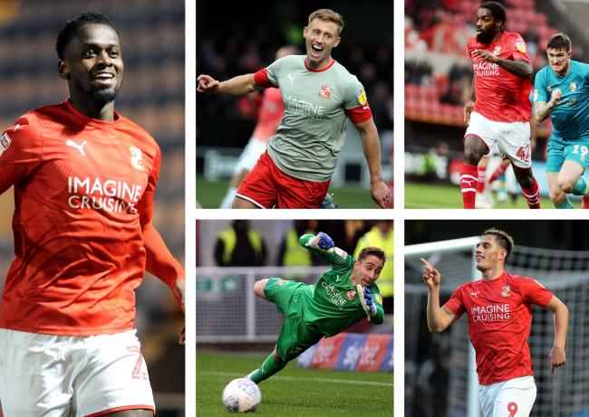 Five players are in the running for the STFC Adver Player of the Year prize. Pictures: DAVE EVANS