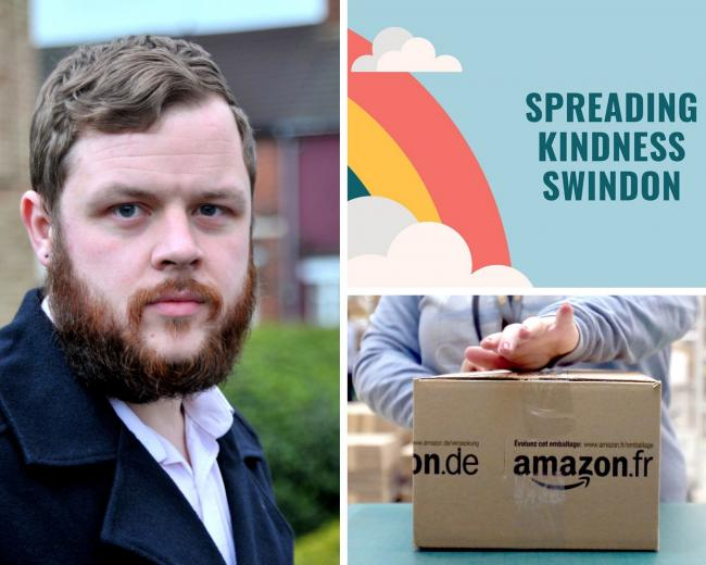 Samuel May has started a new Facebook Group called Spreading Kindness - Swindon