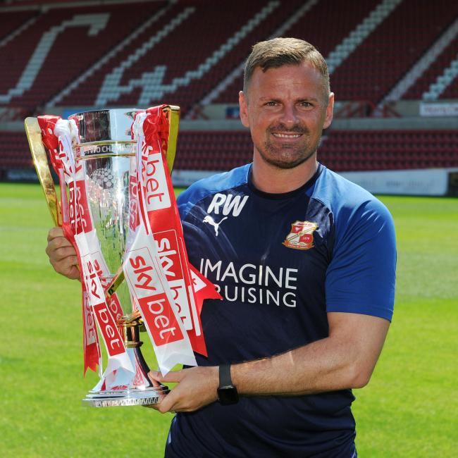 Town boss would 'sign a 10-year deal' for double his wages