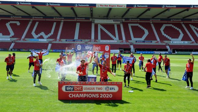 'Virtual bus tour' to celebrate champions Swindon Town tomorrow