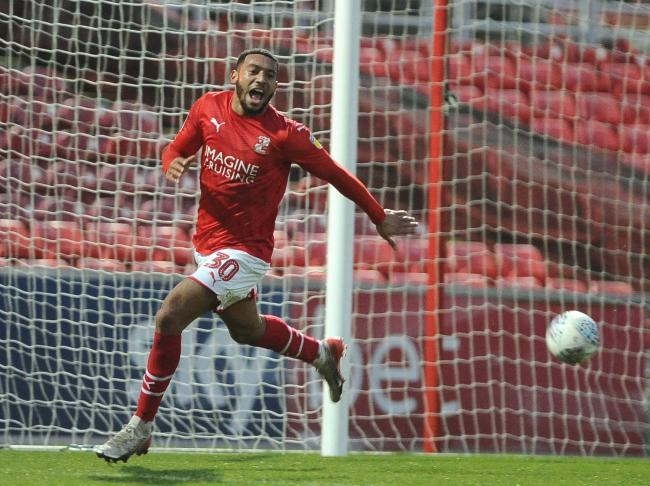 Keshi Anderson is leaving Swindon Town. Picture: DAVE EVANS