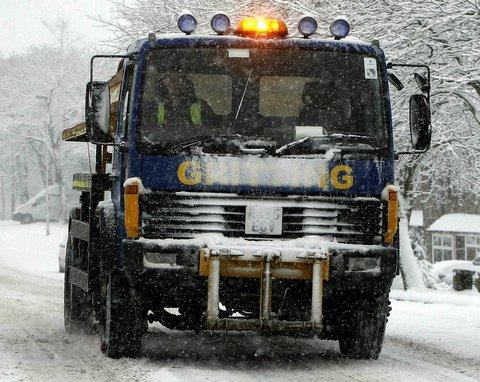Gritters prepared as snow is set to arrive in Swindon
