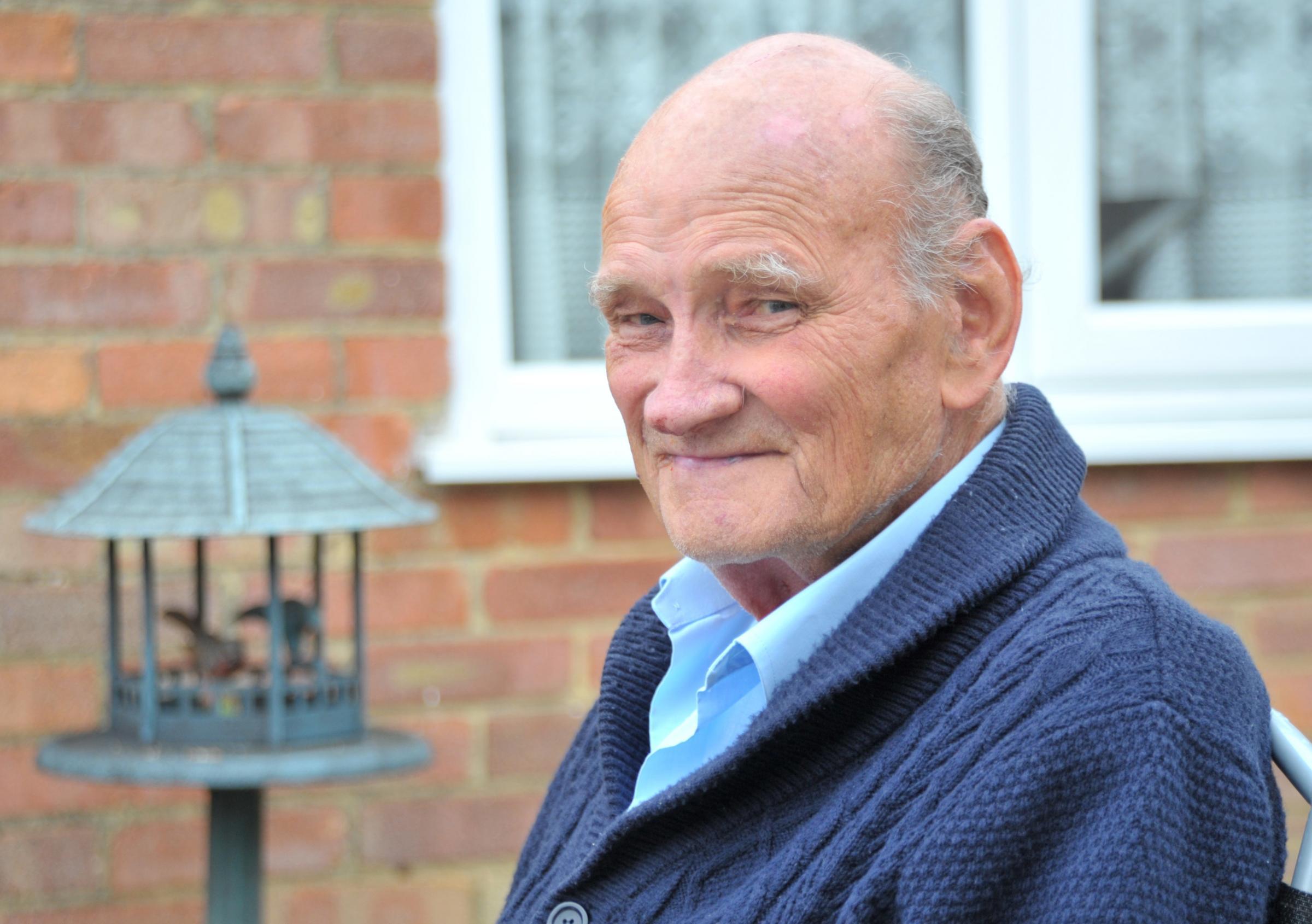 Veteran Jim thanks NHS for saving his life after heart failure