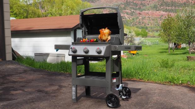Swindon Advertiser: The Weber Spirit II E-310 remains the best gas BBQ we've tested. Credit: Reviewed