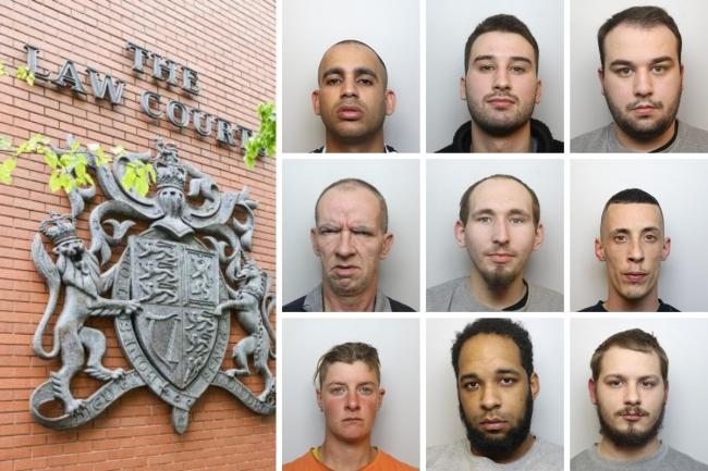 Thugs, sex abusers and thieves: Everyone sentenced at Swindon Crown Court in June listed