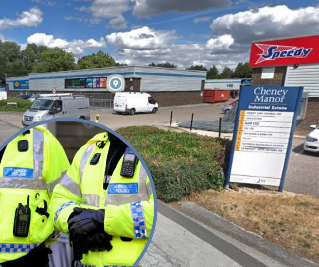 Three arrests after Cheney Manor Industrial Estate drugs raid