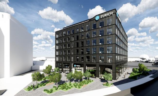 What the new Zurich HQ in Kimmerfields will look like once complete