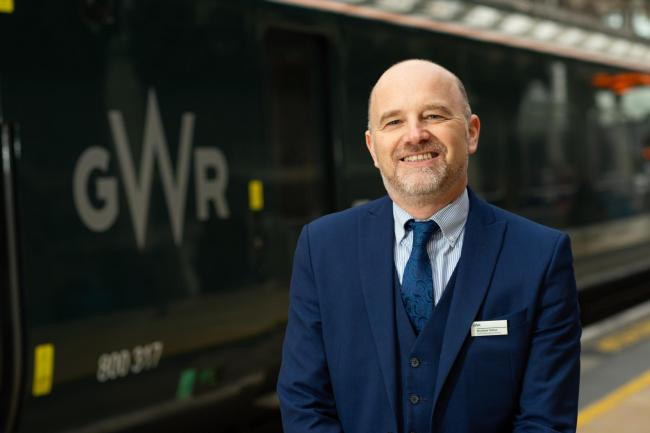 Great Western Railway interim managing director Mathew Golton at London Paddington