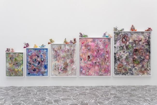 Athena Papadopoulos, Cain and Abel Can't and Able, 2020. Installation view at MOSTYN, Wales UK. Picture: Mark Blower.