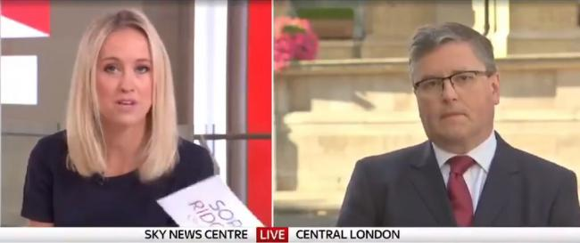 Robert Buckland is grilled by Sophie Ridge on Sky News yesterday morning