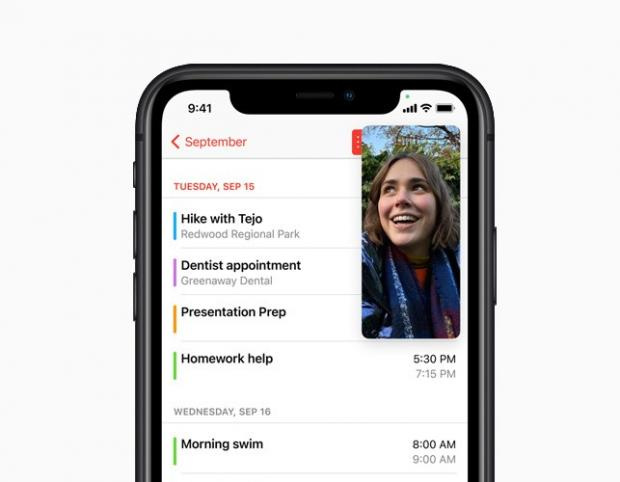 Swindon Advertiser: With Picture-in-Picture, users can watch a video or take a FaceTime call while using another app. Picture: Apple