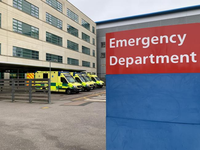 Great Western Hospital's emergency department